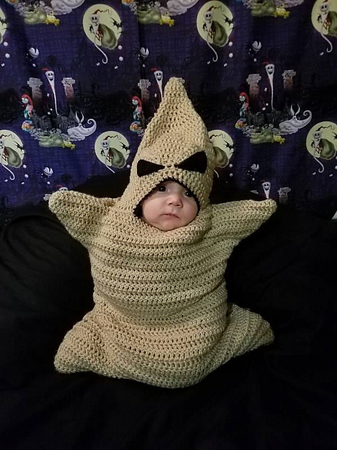 Ravelry Oogie Boogie Baby Pattern By Ariel Bee Inspiration & accessories for your diy oogie boogie halloween costume idea #halloween #costume. oogie boogie baby pattern by ariel bee