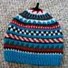 Child's patterned hat pattern
