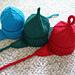 Infant Earflap hats pattern