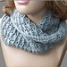 Cross-Over Long DC Cowl pattern