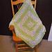 Lacy V-Stitch Granny Baby Blanket pattern