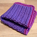 Exfoliating Face Cloth pattern
