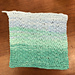 Easy Painted Cotton Washcloth pattern