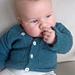 Easy Baby Cardigan pattern