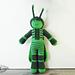 Mister Grasshopper pattern