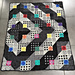 Coloured Square Blanket pattern