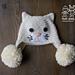 Pur-fect Kitty Earflap Hat pattern