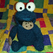 Cookie Monster Amigurmi pattern