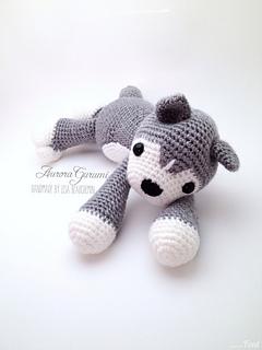 Crochet Large Amigurumi Siberian Husky Dog Part 1 of 4 DIY Video ... | 320x240