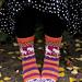 Merry Go Socks pattern