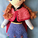 "Anna - ""Frozen"" Crocheted Doll pattern"