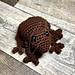 Fidgety Frog pattern