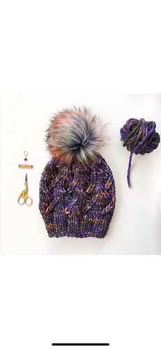 Knitted by Ginny @aspen_leaf_knits in Soriano colorway.