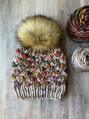 kristine favorited LotusFlowerBeanie by BKnitsHandmade
