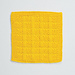 Seed Stitch Checks Dishcloth pattern