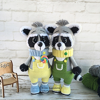 PATTERN: Rex the Raccoon Crochet raccoon pattern raccoon | Etsy | 320x320