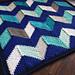 Beach Hut Blanket pattern