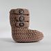 Three Strap Baby Boot pattern
