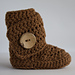 Side Wrap Baby Boots pattern