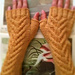 Staghorn Fingerless Mitts-worsted pattern