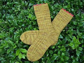 DIC Strange Harvest Socks