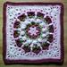 Rachel's Flower Afghan Square pattern
