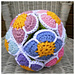 Flower Amish Puzzle Ball pattern
