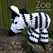 Zoe Zebra pattern