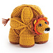 Brill the Crochet Lion Puzzle pattern