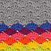 Simple Crochet Shells Dishcloth pattern