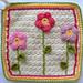 Little Flower Garden Dishcloth pattern