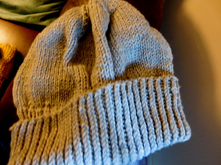 Grey slouchy for my cousin Diana