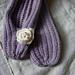 Easy Ballerina Slippers pattern