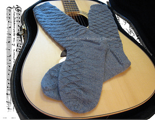 Guitar Man Socks