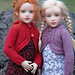 Curved & Cabled-CH for Helen Kish Chrysalis Dolls pattern