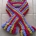 Curly Bobbles Scarf pattern
