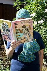 Fishtail scarf