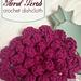 Floral Scrub Dishcloth pattern