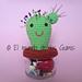 Alfiletero Cactus pattern