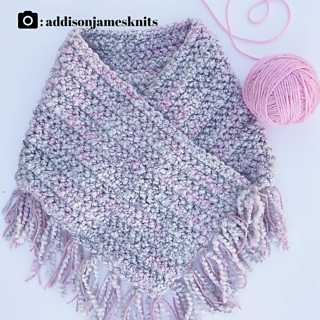 version by pattern tester @addisonjameknits - the buttons can easily be left of the design if you prefer it without!