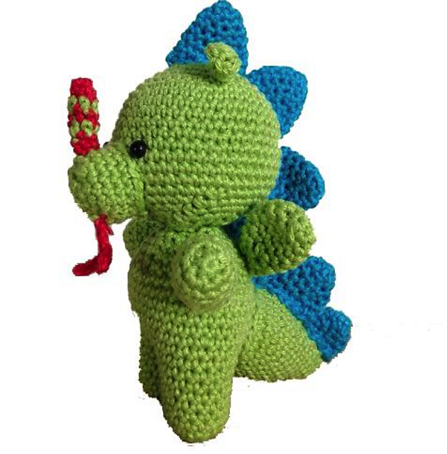 Dragon Crochet Patterns - AmVaBe Crochet | 640x630