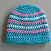 Striped Charity Hat pattern