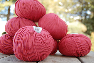 Classic Elite Cotton Bam Boo in Rasberry Sorbet