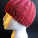 Basic Garter Rib Hat pattern