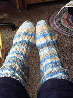 Cable socks