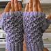 Fancy Trellis Lace Fingerless Gloves pattern