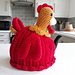 Red Rooster Tea Cosy pattern