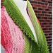Watermelon Slice shawl pattern