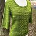 Sunset Breeze sweater pattern