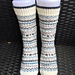 Mønsterleik sokker pattern